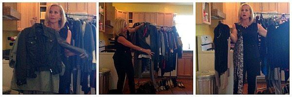 Sandra giving us awesome fashion tips.