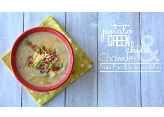 Potato and Green Chile Chowder