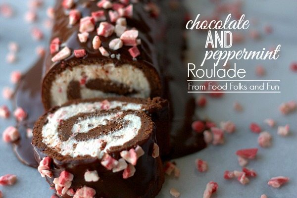 Chocolate Peppermint Roulade