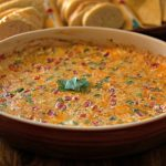A large bowl of Hot Pimento Cheese Dip