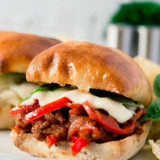 Best-ever Sausage and Peppers Sloppy Joes
