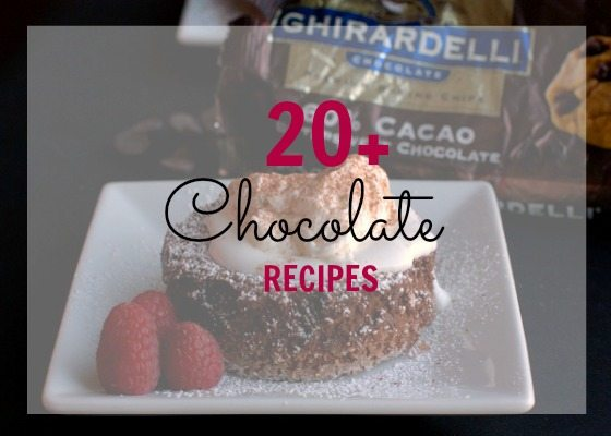 20+ Chocolate Recipes