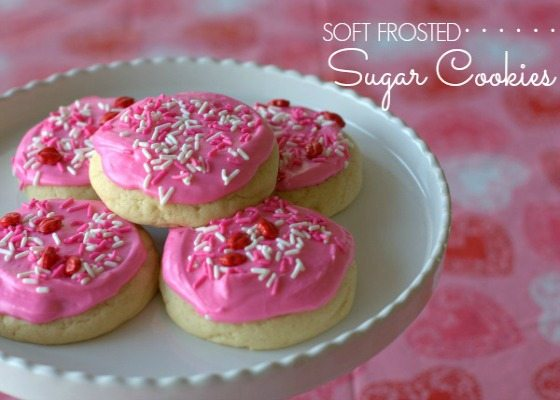 Soft Frosted Sugar Cookies  – Better than Lofthouse!