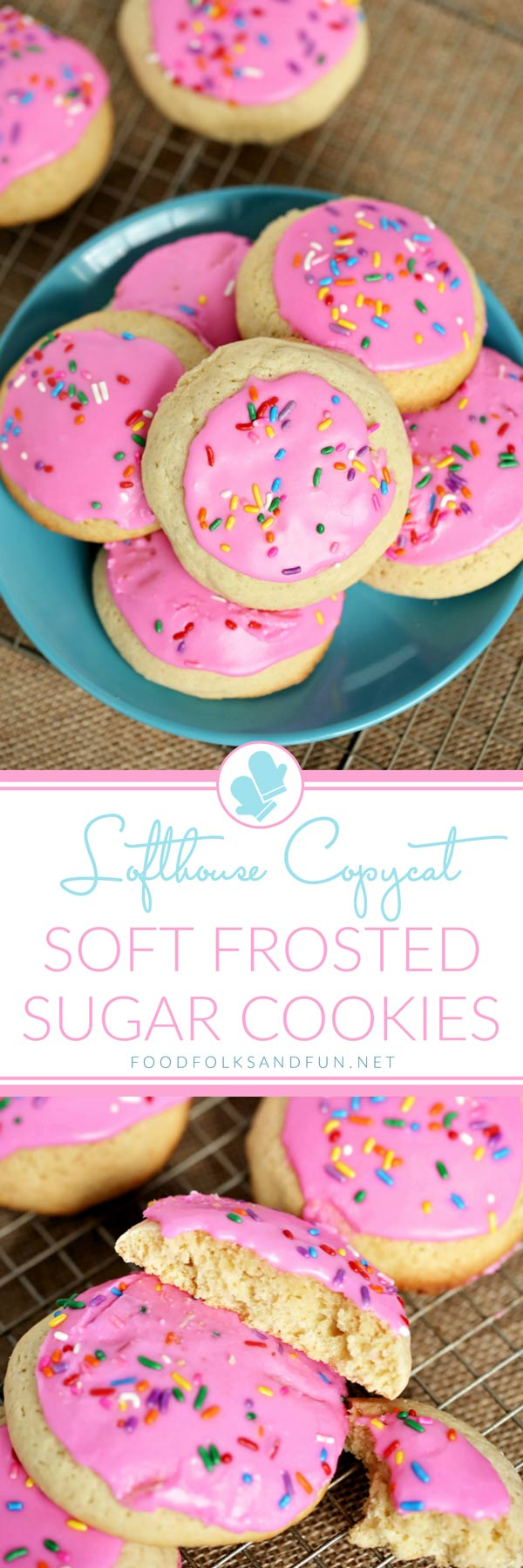 Soft Frosted Sugar Cookies Recipe - a Lofthouse Copycat Recipe