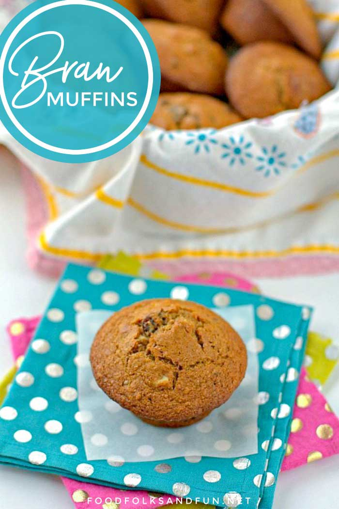 Come learn the secret to making the best, most tender, and flavorful Bran Muffins. They will convert any bran muffin hatter into an aficionado!  #muffins #breakfast #bran #BranMuffins #HealthyRecipe #HealthyMuffins #foodfolksandfun via @foodfolksandfun