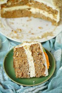 Carrot Cake Cheesecake recipe with recipe video