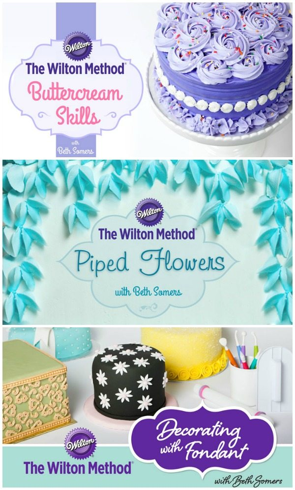 Cake Decorating Classes Free : Wilton On-Line Cake Decorating Class & Kit GIVEAWAY ...