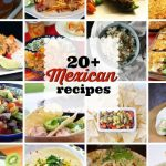 A collage of 20+ Mexican recipes