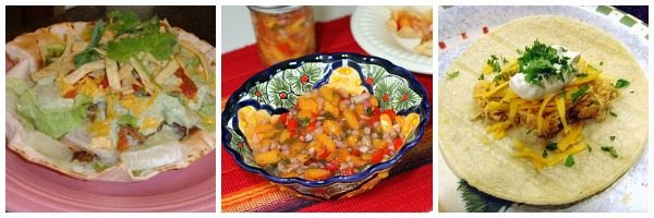 A bowl using a Mexican recipe