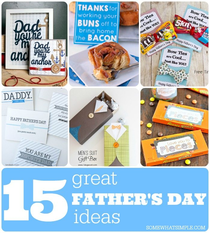 15 Best Father's Day Ideas Round Up
