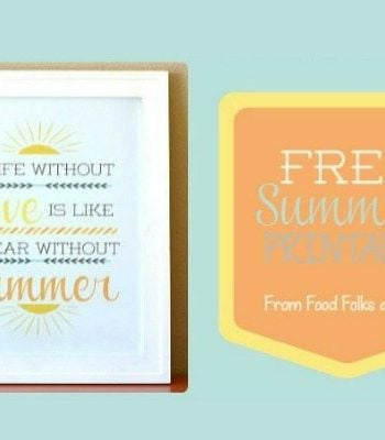 Clip-art for Free summer printables