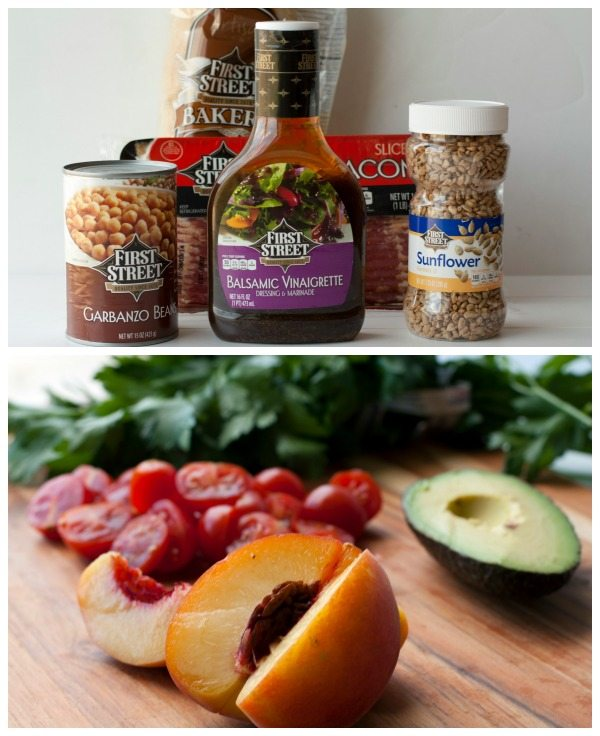 Bountiful Summer Salad Ingredients