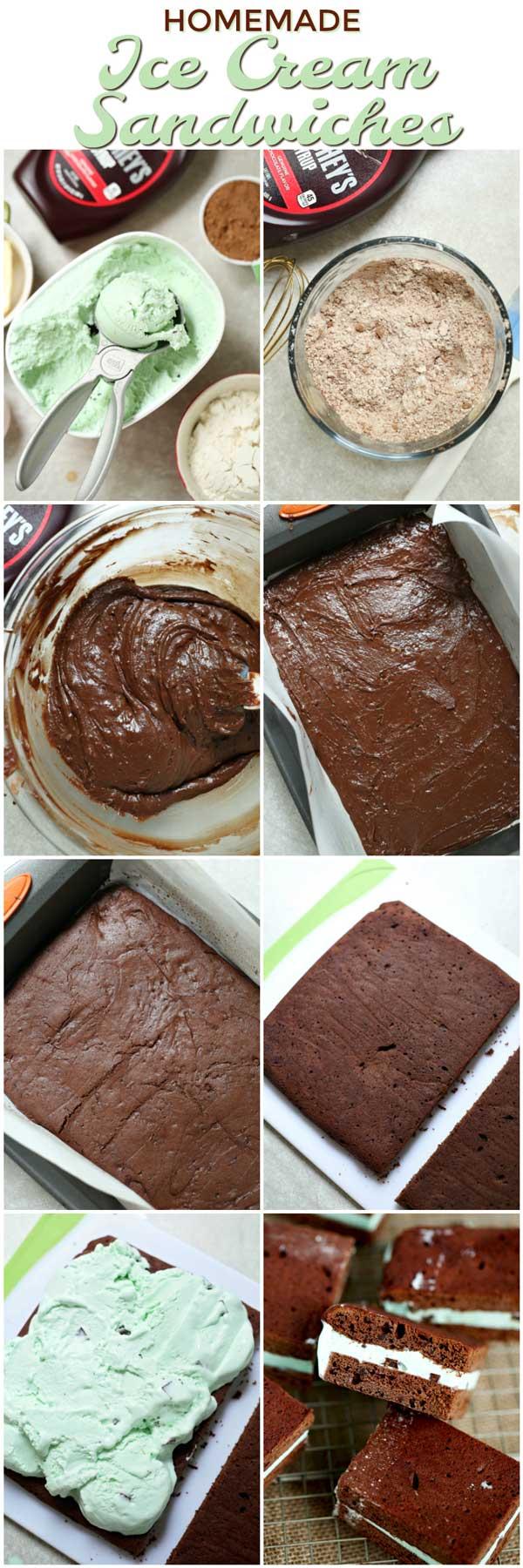 How to make Homemade Ice Cream Sandwich recipe