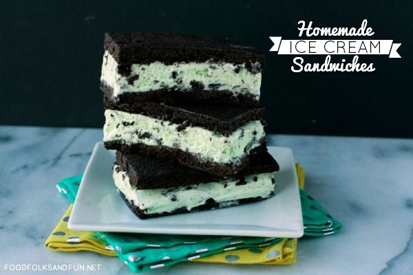Homemade Ice Cream Sandwich Recipe