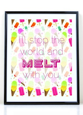 Image of Free Ice Cream Printable