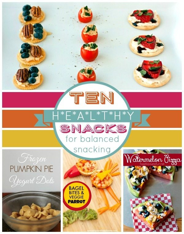 10 Healthy Snacks for Balanced Snacking Roundup