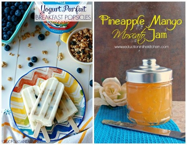 A collage of breakfast recipe ideas with text overlay for Pinterest