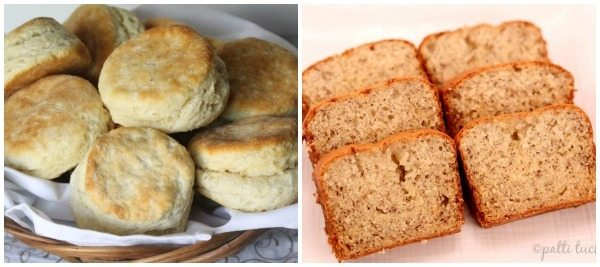 A collage of breakfast bread recipes