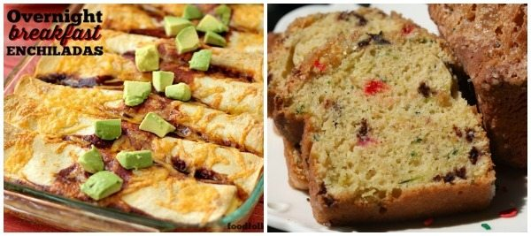 breakfast recipe ideas in a collage