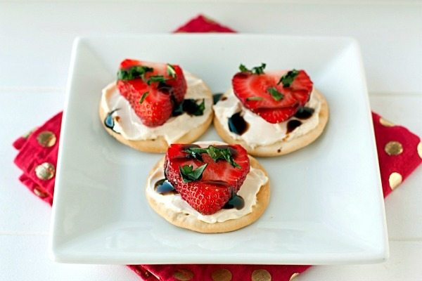 Strawberry Balsamic Bite