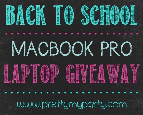 Back to School Macbook Pro Laptop GIVEAWAY!