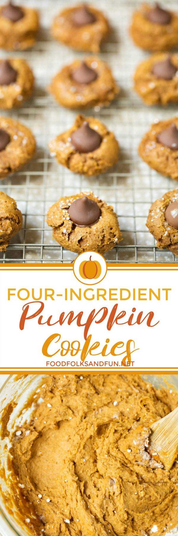 Easiest Pumpkin Blossom Cookies