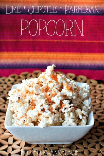 Lime, Chipotle & Parmesan Popcorn