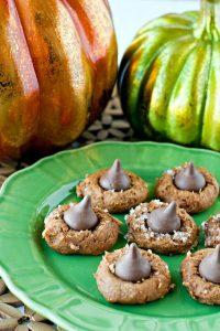 Four Ingredient Pumpkin Blossom Cookies