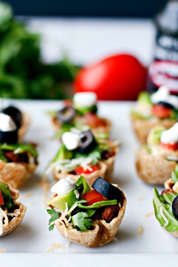 Taco Salad Mini Bites