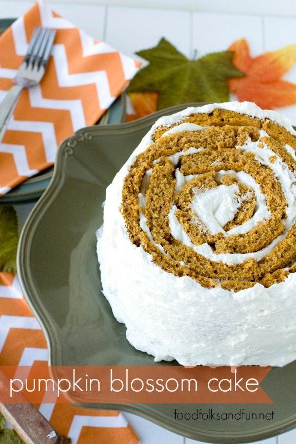 Pumpkin Blossom Cake