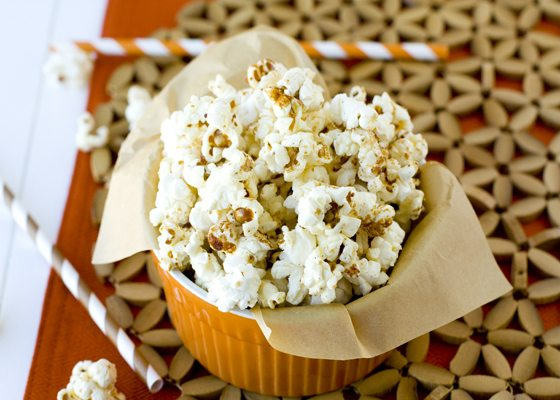 Doing Kettle Corn the right way – with Pumpkin Pie Spice!