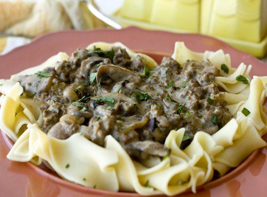 Ground Beef Stroganoff – Quick & Easy Weeknight Dinner