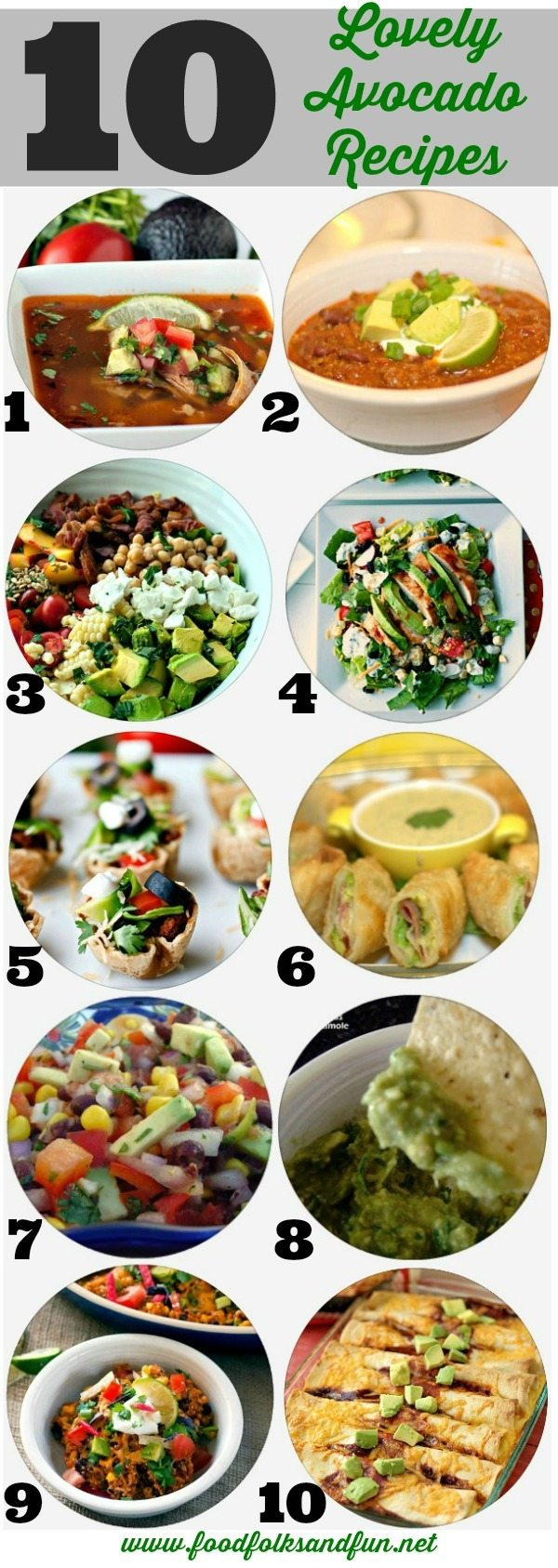 10 Lovely Avocado Recipes