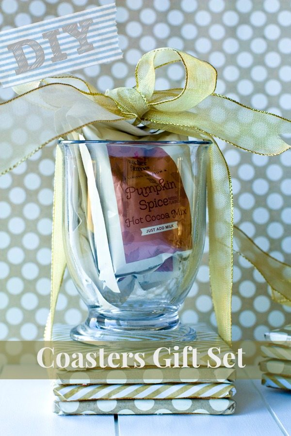 DIY Coasters Gift Set