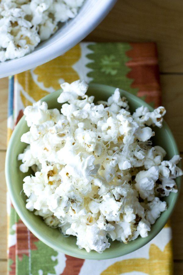 Easy Truffle Popcorn