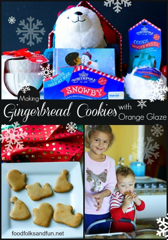 Gingerbread Cookies with Orange Glaze 1