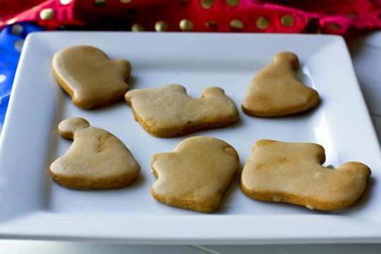 Gingerbread Cookies with Orange Glaze for Family Fun Night