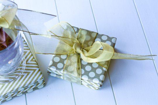 DIY Coasters Gift Set + 30 Neighbor Gift Ideas!