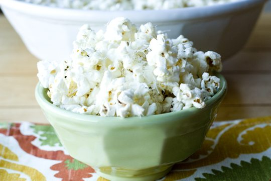 Truffle Popcorn with Parmesan