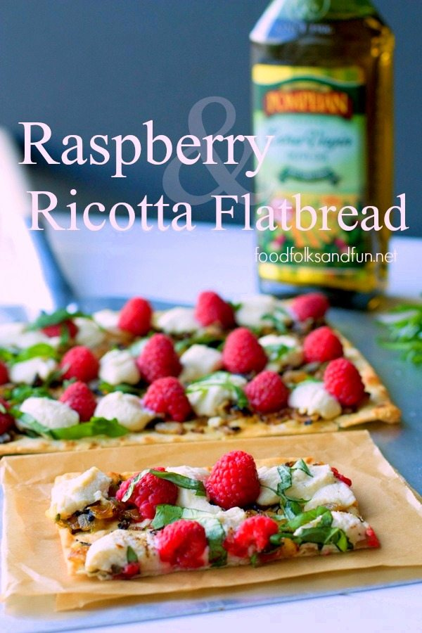 Raspberry and Ricotta Flatbread Recipe 1
