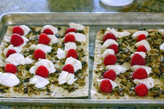 Raspberry and Ricotta Flatbread 4