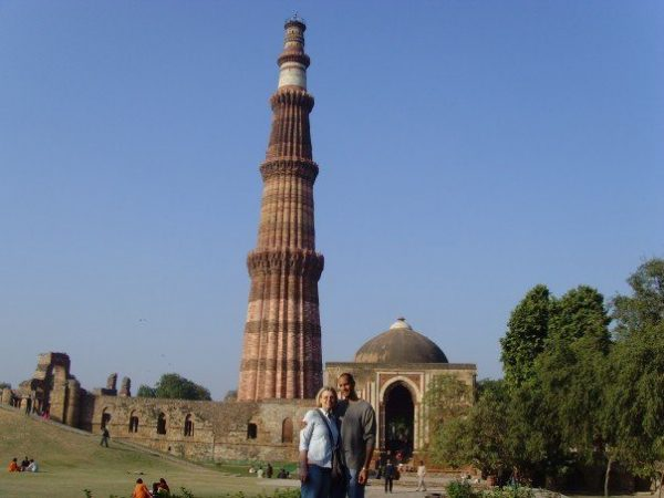 standing at Old Delhi.