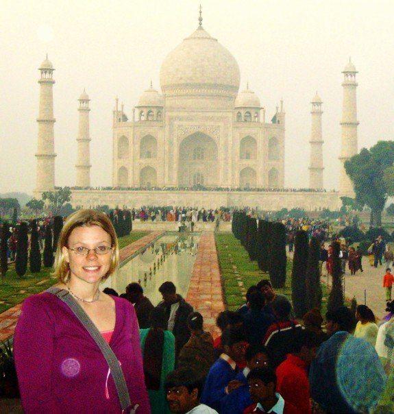 Oh, The Taj...