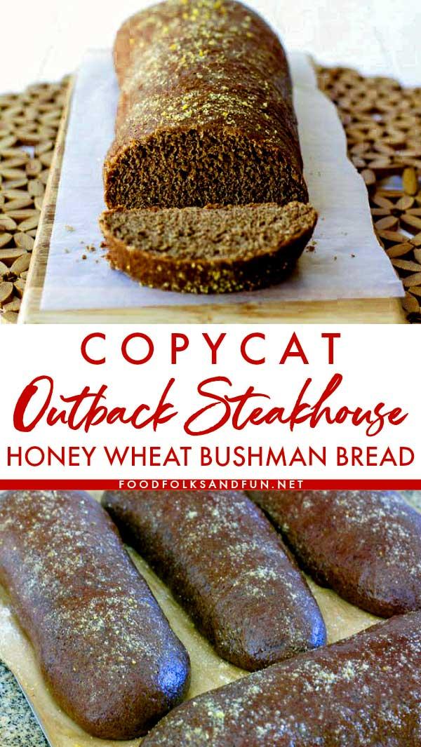 Copycat Outback Honey Wheat Bushman Bread Recipe