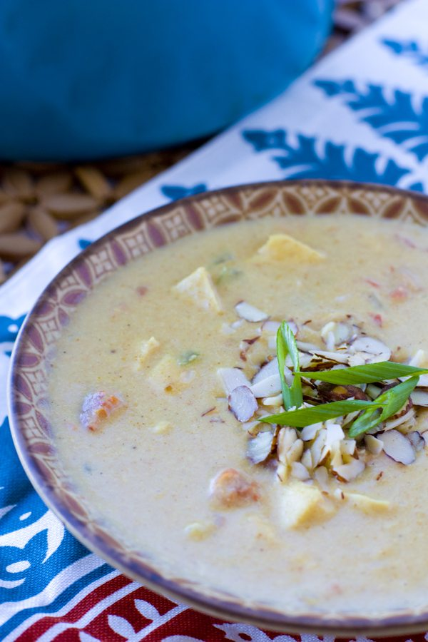 Creamy Chicken Curry Soup 1