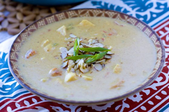 Creamy Chicken Curry Soup #SouperJanuary