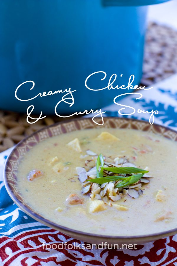 Creamy Chicken Curry Soup 3