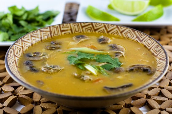 Slow Cooker Thai Chicken Soup #SouperJanuary
