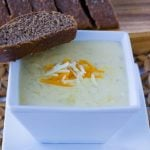 Outback Steakhouse Copycat Walkabout Soup in a small bowl