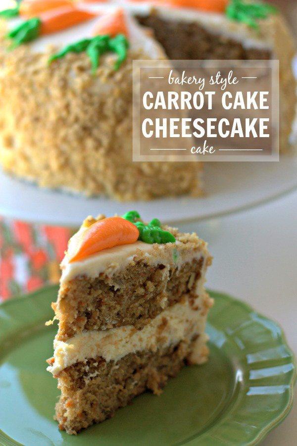 Carrot Cake Cheesecake Cake – a Cheesecake Factory Copycat!